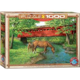 EuroGraphics Мост в лесу. Персис Вейрс, 1000 элементов