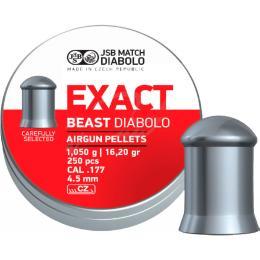 JSB Diabolo Exact Beast 4,52 мм, 1,05 г, 250 шт/уп
