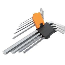 Tolsen удлиненных шестигранных ключей 9 шт 1.5-10 мм