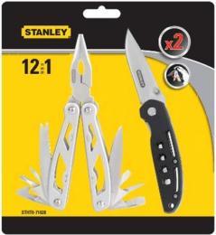 Stanley 12 в 1 + складной нож