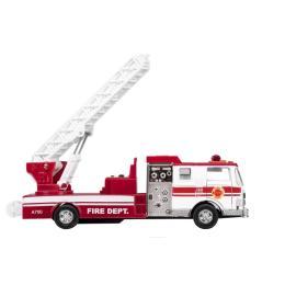 Goki металлическая Пожарная машина лестница белая