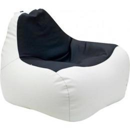 ПРИМТЕКС ПЛЮС кресло-груша Simba H-2200/D-5 М White-Black