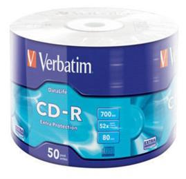 Verbatim 700Mb 52x Wrap-box Extra