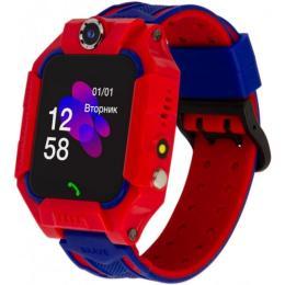 ATRIX iQ2500 IPS Cam Flash Red Kids smart watch-phone, G
