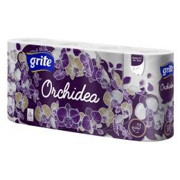 Grite Orchidea 3 слоя 8 рулонов