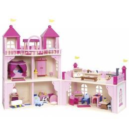 Goki Кукольный домик Замок 2 этажа, закрывающийся