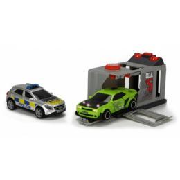 Dickie Toys Полиция. Побег из тюрьмы с 2 машинами