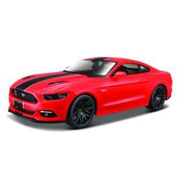 Maisto 2015 Ford Mustang GT красный - тюнинг (1:24)