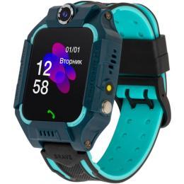 Discovery iQ5000 Camera LED Light Blue Kids smart watch-phon