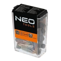Neo Tools PH2 x 25 мм, 20 шт