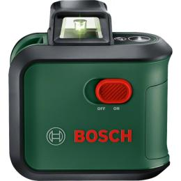 BOSCH AdvancedLevel 360 Basic, 24м, зеленый луч, наклон