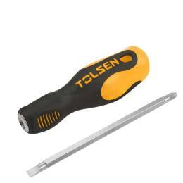 Tolsen Викрутка РН2 + SL6x1.2 мм Толсен