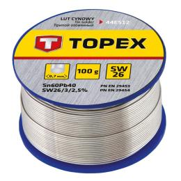 Topex олов'яний 60Sn, проволока 0.7 мм,100 г