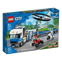LEGO City Police Полицейский вертолётный транспорт 317