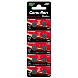 Camelion AG3 / LR736 / LR41 / V3GA Alkaline * 10