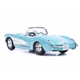 Maisto Chevrolet Corvette 1957 голубой (1:24)