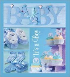 EVG 20sheet Baby collage Blue w/box
