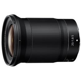 Nikon Z NIKKOR 20mm f/1.8 S