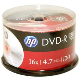 HP DVD-R 4.7GB 16X 50 шт Spindle