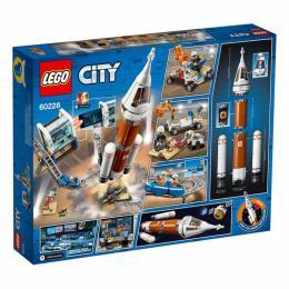 LEGO City Космическая ракета и пункт управления запуско