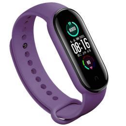 BeCover Silicone для Xiaomi Mi Smart Band 5 Purple