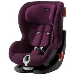 Britax-Romer King II Black Series Burgundy Red