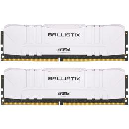 Micron DDR4 16GB (2x8GB) 3600 MHz Ballistix White