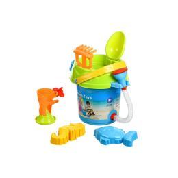 Same Toy Ведерко синее (6 ед.)