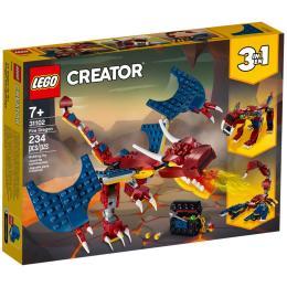 LEGO Creator Огненный дракон 234 детали