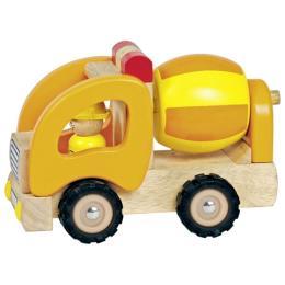 Goki деревянный Бетономешалка желтый