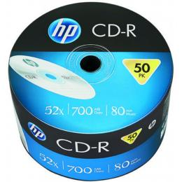 HP CD-R 700MB 52X 50шт