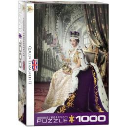 EuroGraphics Королева Елизавета II, 1000 элементов