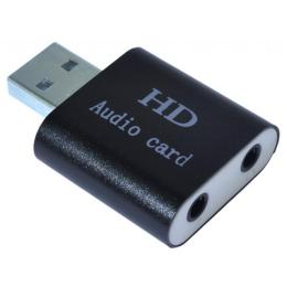 Dynamode USB-SOUND7-ALU black