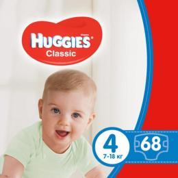 Huggies Classic 4 Mega 68 шт