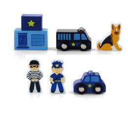 """Viga Toys Доп. набор к ж/д """"Полицейский участок"""""""