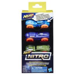 Nerf Nitro Три машинки