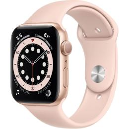 Apple Watch Series 6 GPS, 40mm Gold Aluminium Case with