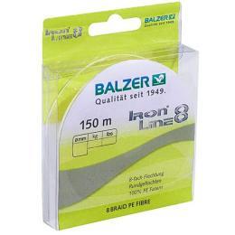 Balzer Iron Line 8x Yellow 150м 0.18мм 12,7кг (желтый)