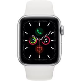 Apple Watch Series 5 GPS, 44mm Silver Aluminium Case wit