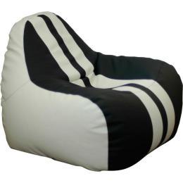 ПРИМТЕКС ПЛЮС кресло-груша Simba Sport H-2200/D-5 M White-Black
