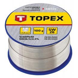 Topex оловянный 60Sn, проволока 1.0 мм,100 г