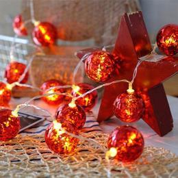 ColorWay Светодиодная Christmas lights ball 6 см 10 LED 1.5