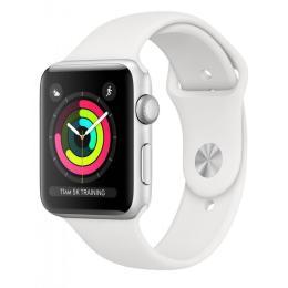 Apple Watch Series3 GPS, 42mm Silver Aluminium Case