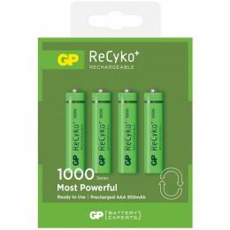 GP AAA 100AAAHCE-2GBE4 Recyko+ 1000 mAh * 4