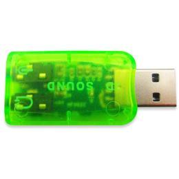 Dynamode USB 6(5.1) green