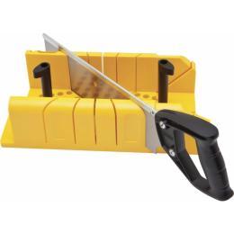 Stanley пластиковое 310 мм. с ножовкой