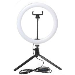 XoKo BS-210 2in1 stand 160cm with LED lamp 26cm, tripod