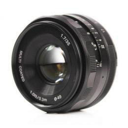 Meike 35mm f/1.7 MC E-mount для Sony