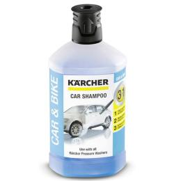 Karcher автошампунь 3-в-1, Plug-n-Clean, 1л