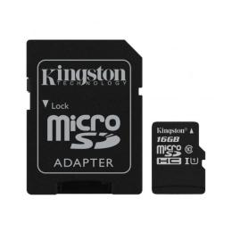 Kingston 16GB microSDHC Class 10 Canvas Select Plus 100R A1